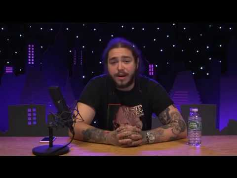 Post Malone Answering Fans Questions DOWNLOAD ALBUM LINK IN THE DESC