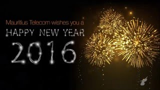 Mauritius Telecom wishes you a Happy, Amazing New Year!