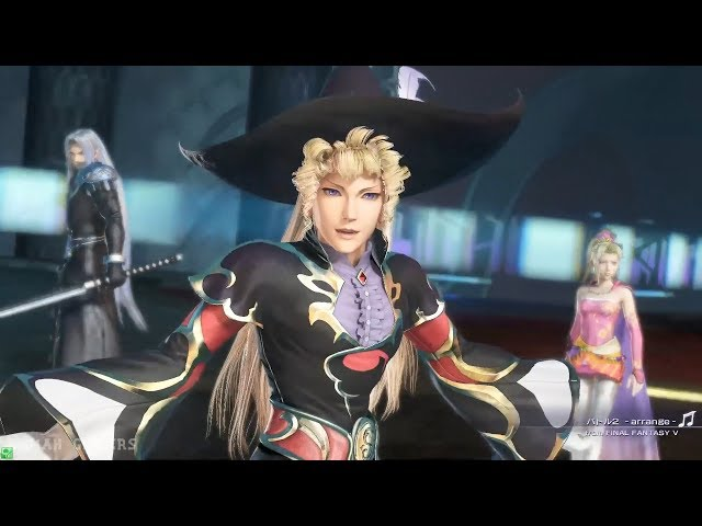 Dissidia FInal Fantasy NT - ALternate Outfit All Character so far
