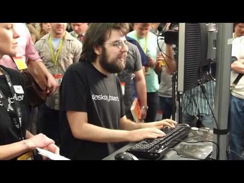 SXSW: This Guy Can Type 163 Words Per Minute