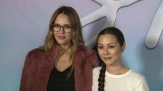 Pregnant Alba comes out for 'SPF-18' premiere