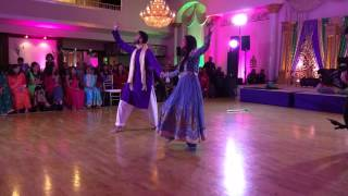 Anam and Asad's Bollywood and Bhangra Routine