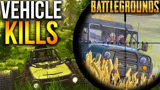 BATTLEGROUNDS CAR SNIPES + ROADKILLS | Player Unknown