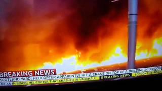 helicopter crash london