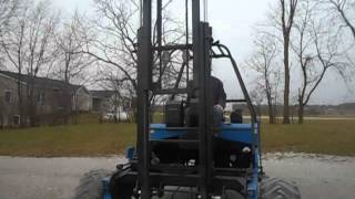 2003 Princeton All Wheel Drive Fork Lift All Terrain lift