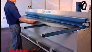 Sheet Metal Folding Machines - MAB 310 CNC making flashings