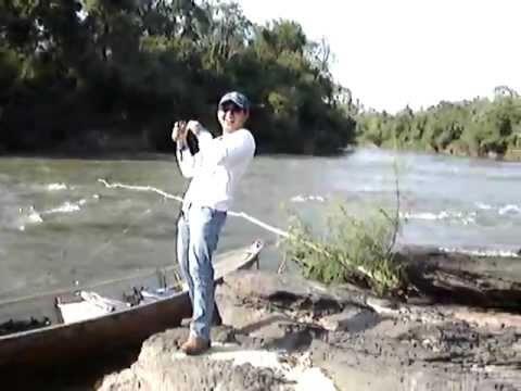 Pesca de Dourados e Piraputangas com Iscas Artificiais Rio Miranda Km 21