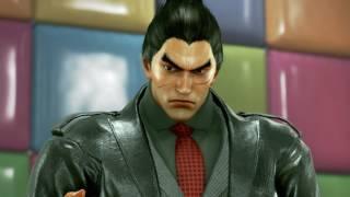 TEKKEN 7 (PS4) Kazuya Vs Akuma Gameplay   Kinder Gym New Stage (1080p 60fps) No Commentary