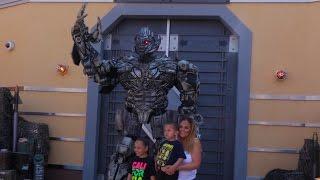 Meet Megatron at Transformers: The Ride 3D, Universal Studios Hollywood