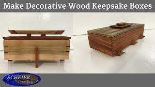 MAKE Decorative  Keepsake Boxes / Jewelry box / Decorative Box
