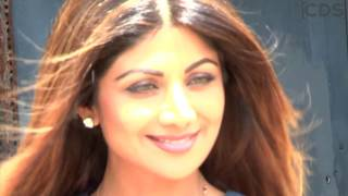 Shilpa Shetty CAUGHT Adjusting Her Short Dress