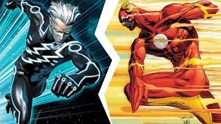 QuickSilver vs The Flash | İnanılmaz Rap Düelloları