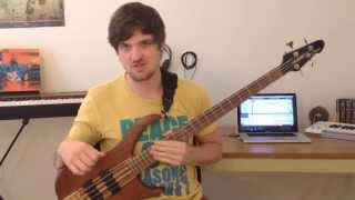 Mixolydian Scales for Bass +