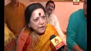 Star Puja:Haimanti Shukla celebrating Saraswati Puja