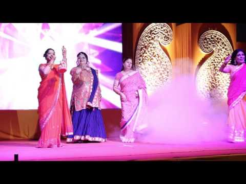 Ladies Sangeet- Family introduction-Dance