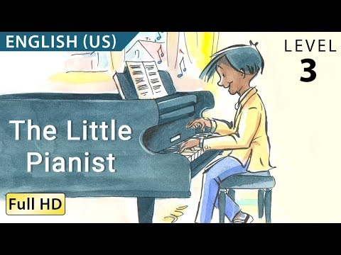 The Little Pianist Learn English US with subtitles Story for Children BookBox