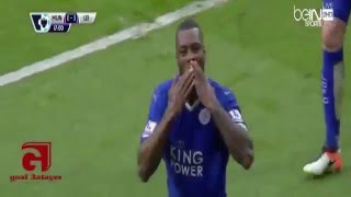 Manchester United vs Leicester City 1 - 1 Goals and Highlights 2016