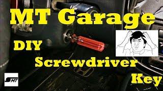 DIY Screwdriver Key | MAKE YOUR OWN!