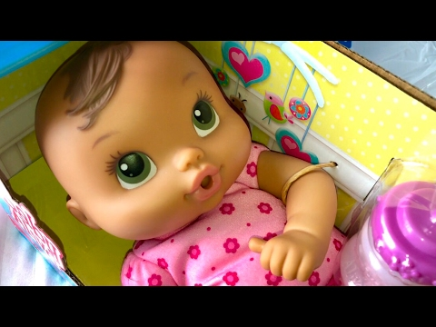 Brunette Baby Alive Luv n Snuggle Doll UnBoxing