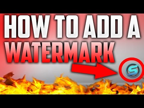 *2016* How To Add A Watermark To Your YouTube Videos - Add Your Logo To Your YouTube Videos 2016!