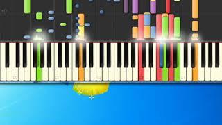 [Piano Tutorial Synthesia]Buongiorno mattina - Pel— Piero