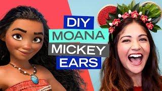 Moana-Inspired Mickey Ears DIY | Disney Style