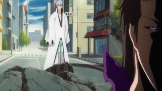 Sosuke Aizen vs Gin Ichimaru and Humans | Full Fight