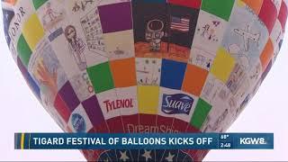 Tigard Festival of Balloons Kicks Off
