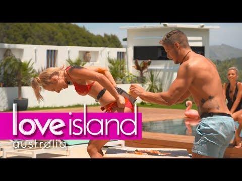 Villa games Dirty pizza Love Island Australia 2018