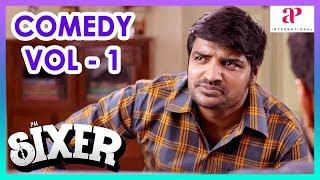 Sixer Movie Comedy Scenes | Part 1 | Vaibhav Reddy | Sathish | Pallak Lalwani | Radha Ravi | Chaams