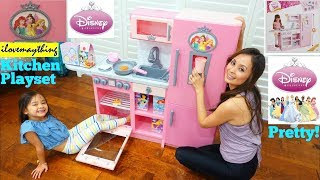 Toy Channel: Cooking Toys for Kids, Disney Princess Style Collection Gourmet Kitchen Play Set