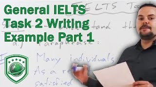 General  IELTS Task 2 writing example to get a high score PART 1