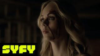 (SPOILERS) Bitten Clips S3E10 'Your House to Burn' | SYFY