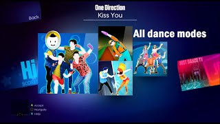 Kiss you - Just Dance 2014 (+Sweat, VS and 6 players)