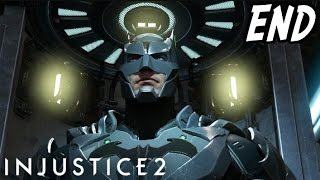 Injustice 2 Story Mode Gameplay Walkthrough Ending - ABSOLUTE JUSTICE! (Injustice 2 Batman Ending)