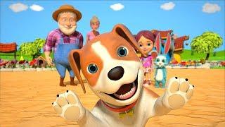 Bingo Dog Song   Kindergarten Nursery Rhymes Songs For Children   Kids Cartoons   Little Treehouse