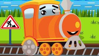 Trains for children - choo choo train - train videos for kids - train cartoon for children - trains