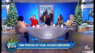 Panel Discuss: Time Person Of The Year Silence Breakers #MeToo (The View)