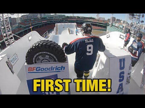 Xxx Mp4 Hockey Players Try Red Bull Crashed Ice Track For The First Time WITHOUT Practice 3gp Sex