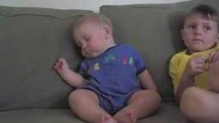 funny baby clip