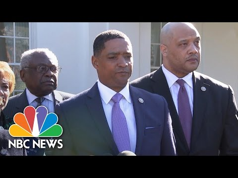 Black Caucus Answers President Trump s What Do You Have to Lose Question NBC News