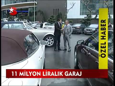İşte Ali Ağaoğlu nun arabaları