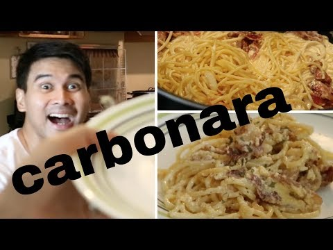 Crisha Uy | Carbonara Recipe | #cookinday 22