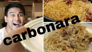 Crisha Uy | Carbonara Recipe | #cookinday 22