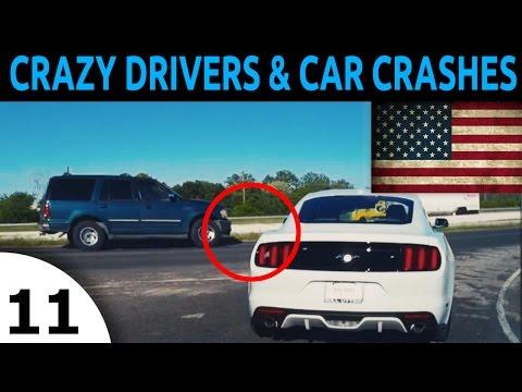 Crazy Driver & Car Crash Compilation