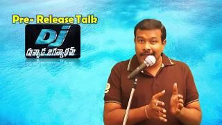 DJ Duvvada Jagannadham Movie Pre Release Talk | Business Report | Allu Arjun | Pooja Hegde | Mr.B