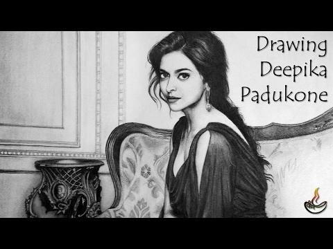 Drawing Deepika Padukone : Sketch #7 [from xXx: Return of Xander Cage] [Kannada Actress]