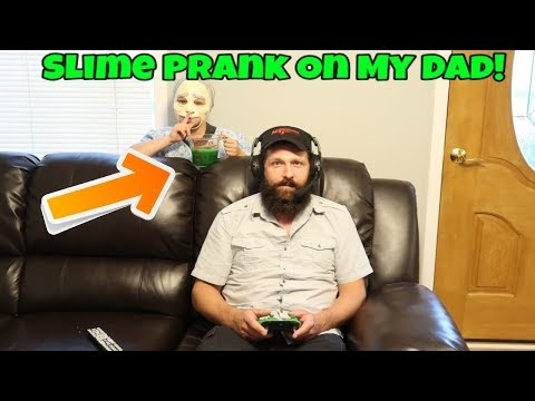 Xxx Mp4 Slime Prank On My Dad Gone Wrong Pranking My Dad On His Birthday 3gp Sex