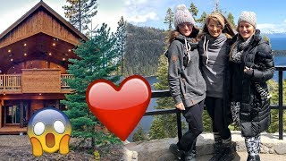 BRE IS BACK! + Our Tahoe HOUSE IS CRAZY!