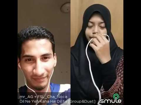 smule malaysia bolywood great voice dil ne yeh kaha dhadkhan
